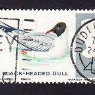 GB QE II Stamp 1966 Birds 4d MFU SG696 Mauritron 78071