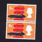 GB QE II Stamp 1966 Technology 6d Blk 2 UM (1) SG702 Mauritron 78078
