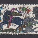 GB QE II Stamp 1966 Hastings 4d MFU SG705 Mauritron 78089