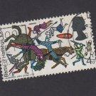 GB QE II Stamp 1966 Hastings 4d MFU SG706 Mauritron 78090