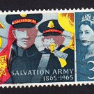 GB QE II Stamp 1965 Salvation Army 3d MFU SG665 Mauritron 78109