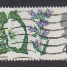 GB QE II Stamp 1967 Flowers 4d MFU SG720 Mauritron 78111