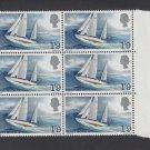 GB QEII Stamp. 1967 Chichester 1/9d BLK 6 UM SG751. Mauritron #78136