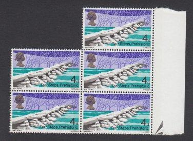 GB QEII Stamp. 1968 Bridges 4d BLK 5 UM SG763 Mauritron #78143