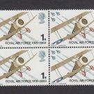 GB QEII Stamp. 1968 Anniversaries 1s BLK 4 UM SG769 Mauritron #78149