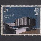 GB QEII Stamp. 1971 Architecture 9p MFU SG893 Mauritron #78160
