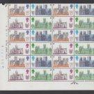 GB QEII Stamp. 1969 Cathedrals Corner BLK 24 UM 5d SG 796 to 799 Mauritron #78213