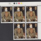 GB QEII Stamp. 1968 Paintings 4d Corner BLK 5 UM SG771 Mauritron #78234