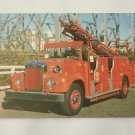 Postcard. Fire Brigade Engine Brisbane Australia Mauritron #78278