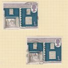 GB QEII Stamp. 1970 Architecture 1s Set 2 MFU SG818 Mauritron #78299