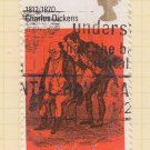 GB QEII Stamp. 1970 Literary 5d MFU SG824 Mauritron #78315