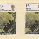 GB QEII Stamp. 1970 Literary 1/6d MFU Set of 2 SG828 Mauritron #78317