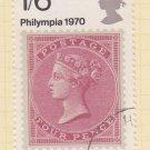 GB QEII Stamp. 1970 Philympia 1/6d MFU SG837 Mauritron #78326