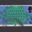 GB QEII Stamp. 1969 Post Office 9d MFU SG809 Mauritron #78335