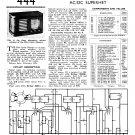Pilot Little Maestro AC DC Schematics Circuits Service Sheets
