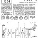 Pilot T115 AC DC Schematics Circuits Service Sheets  for download.