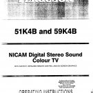 Ferguson 51K4B  Colour Television OPERATING GUIDE download.