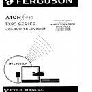 Ferguson A10R  Colour Television Service Manual download.