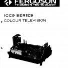 Ferguson ICC9  Colour Television Service Manual download.