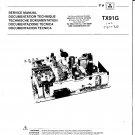 Ferguson TX91 NEW  Colour Television Service Manual download.