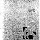 Bang & Olufsen Beomaster 1900 Type 2903. Service Manual PDF download.