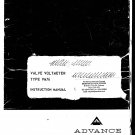 Advance VM76 VVM Service Manual PDF download.