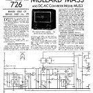 Mullard Mas3 Wireless Service Sheets PDF download.