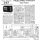 Mullard Mus24 Wireless Service Sheets PDF download.