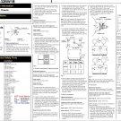 Mitsubishi CT32BW1B Television Service Manual PDF download.