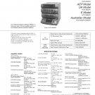 Sony HCDD890AV Music System Service Manual PDF download.