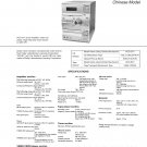 Sony HCDVP1 Music System Service Manual Schematics PDF download.