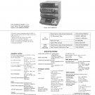 Sony HCDXB88AVK Music System Service Manual Schematics PDF download.