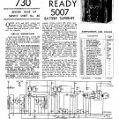 Ever Ready 5007. Vintage Wireless Service Sheets PDF download.