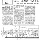 Ever Ready Sky Emperor. Vintage Wireless Service Sheets PDF download.