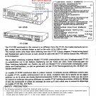 Hitachi  FTD100 Music System Service Manual PDF download.