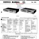 Hitachi  HA3700 Music System Service Manual PDF download.