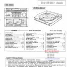 Hitachi  MD30 Music System Service Manual PDF download.
