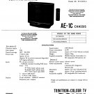 Sony KVX2152U. AE1C  Television Service Manual PDF download.