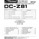 Pioneer DCZ81  MUSIC SYSTEM Service Manual PDF download.
