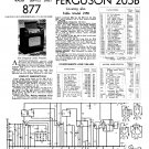 Ferguson 205B Vintage Audio Service Schematics PDF download.