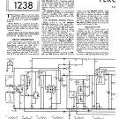 Ferguson 329A Vintage Audio Service Schematics PDF download.