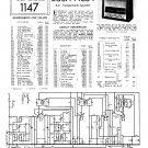 Bush AC34 Vintage Wireless Service Schematics PDF download.