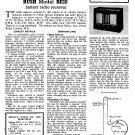 Bush BE15 Vintage Wireless Service Schematics PDF download.