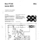 EKCO 8023 Equipment Service Information by download #90149