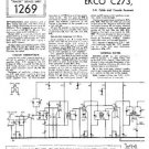 EKCO C273 Equipment Service Information by download #90177