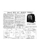EKCO M23 Equipment Service Information by download #90202