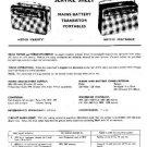 EKCO MBT425 Equipment Service Information by download #90212