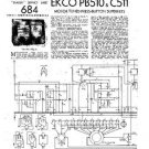 EKCO PB510 Equipment Service Information by download #90221