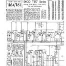 EKCO T205 Equipment Service Information by download #90285