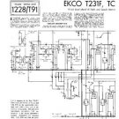 EKCO T231F Equipment Service Information by download #90289